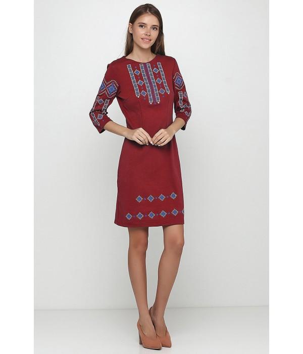 Плаття вишите жіноче М-1033-15, Плаття вишите жіноче М-1033-15 купити