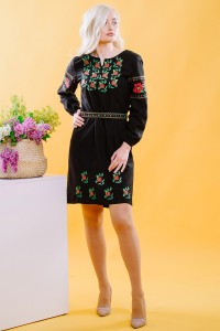Платье вышитое Етномодерн М-1034-1