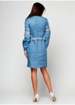 Платье вышитое женское М-1034-2