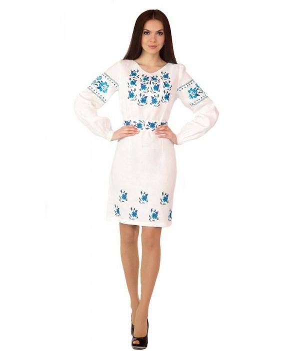 Платье вышитое женское М-1034-3, Платье вышитое женское М-1034-3 купити