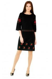 Платье вышитое Етномодерн М-1035