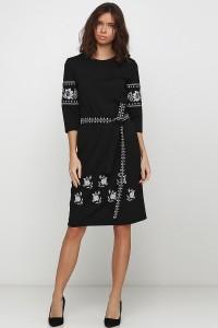Платье вышитое Етномодерн М-1035-2