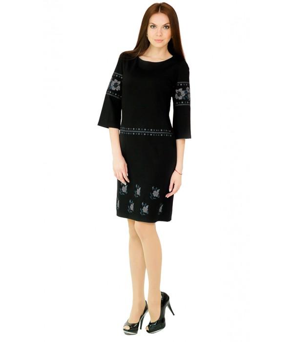 Платье вышитое женское М-1035-1, Платье вышитое женское М-1035-1 купити