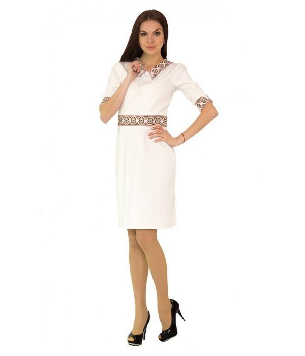 Платье вышитое женское М-1036-1, Платье вышитое женское М-1036-1 купити