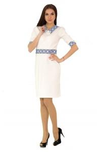 Платье вышитое женское М-1036-2