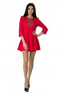 Платье вышитое Етномодерн М-1040
