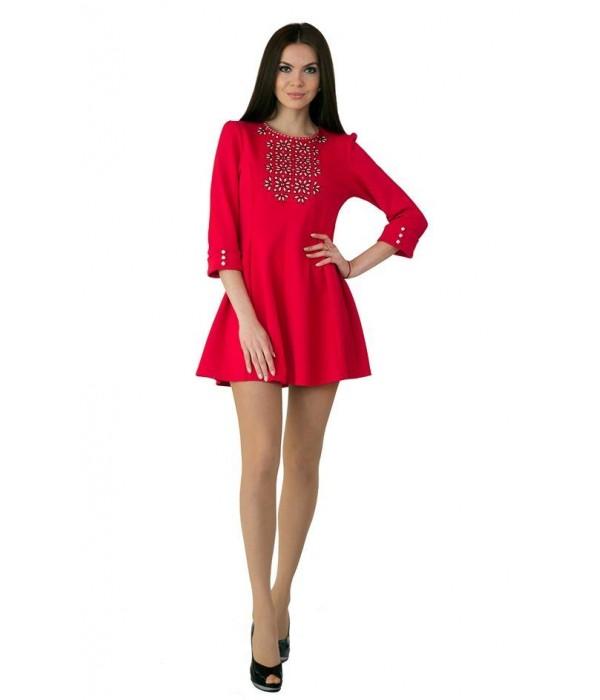 Платье вышитое Етномодерн М-1040, Платье вышитое Етномодерн М-1040 купити