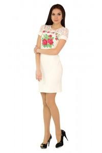 Платье вышитое женское М-1042-1