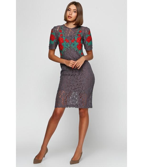 Плаття вишите жіноче М-1043-4, Плаття вишите жіноче М-1043-4 купити
