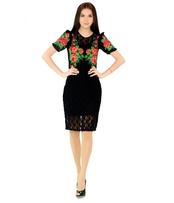 Платье вышитое женское М-1043, Платье вышитое женское М-1043 купити