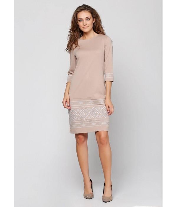 Платье вышитое женское М-1057-2, Платье вышитое женское М-1057-2 купити