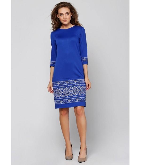 Платье вышитое женское М-1057-3, Платье вышитое женское М-1057-3 купити