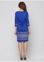 Платье вышитое женское М-1057-3