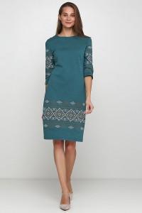 Платье вышитое женское М-1057-4