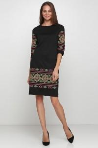 Платье вышитое Етномодерн М-1057-6