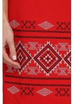 Платье вышитое женское М-1057-7