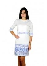 Платье вышитое женское М-1057