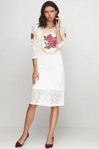 Платье вышитое женское М-1062-1