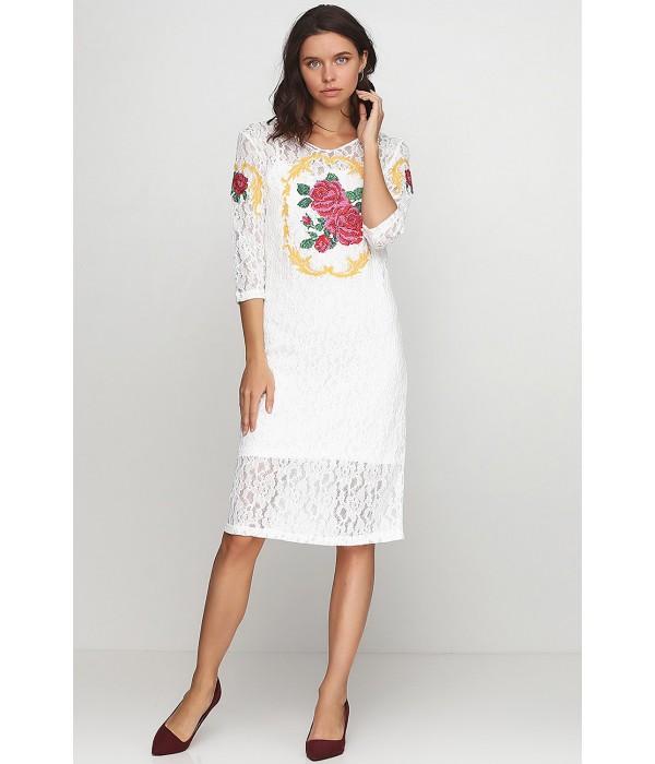 Платье вышитое женское М-1062-1, Платье вышитое женское М-1062-1 купити