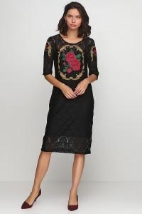 Платье вышитое женское М-1062-3