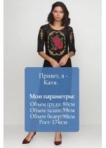 Плаття вишите жіноче М-1062-3