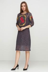 Платье вышитое женское М-1062-4