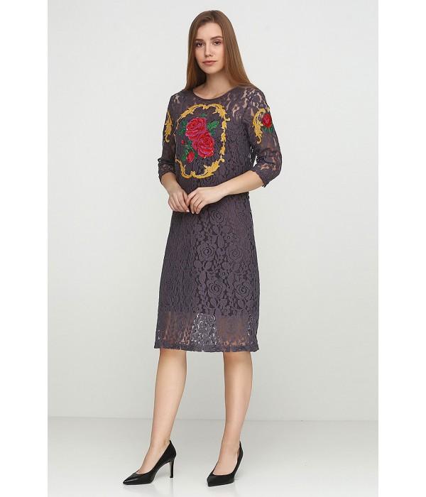 Платье вышитое женское М-1062-4, Платье вышитое женское М-1062-4 купити