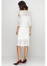 Платье вышитое женское М-1062