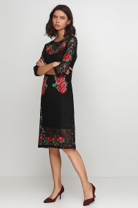 Плаття вишите жіноче М-1066-1