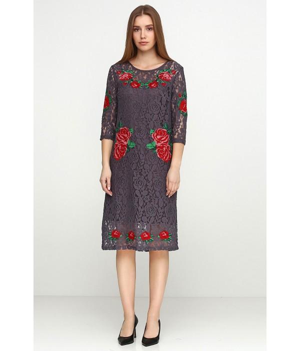 Платье вышитое Етномодерн М-1066-2, Платье вышитое Етномодерн М-1066-2 купити