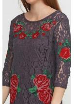 Платье вышитое Етномодерн М-1066-2