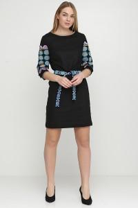 Платье вышитое женское М-1067-1