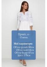 Платье вышитое женское М-1077-10