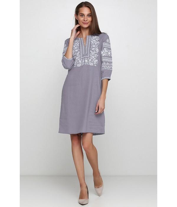 Платье вышитое женское М-1077-11, Платье вышитое женское М-1077-11 купити