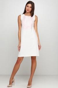 Платье вышитое женское М-1077-12