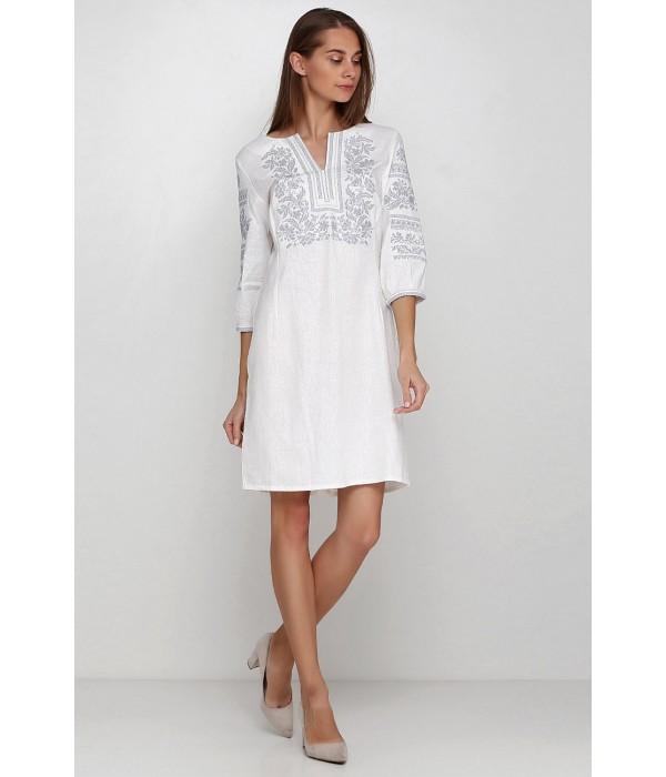 Платье вышитое женское М-1077-13, Платье вышитое женское М-1077-13 купити