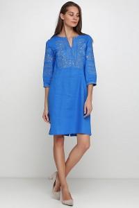 Платье вышитое женское М-1077-2