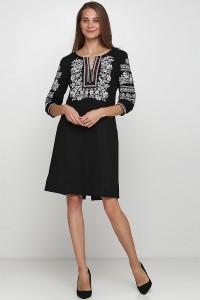Платье вышитое женское М-1077-6