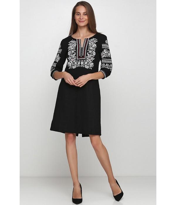 Плаття вишите жіноче М-1077-6, Плаття вишите жіноче М-1077-6 купити