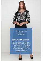 Плаття вишите жіноче М-1077-6