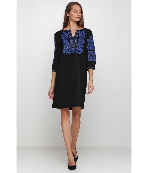 Платье вышитое женское М-1077-7, Платье вышитое женское М-1077-7 купити