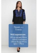 Плаття вишите жіноче М-1077-7
