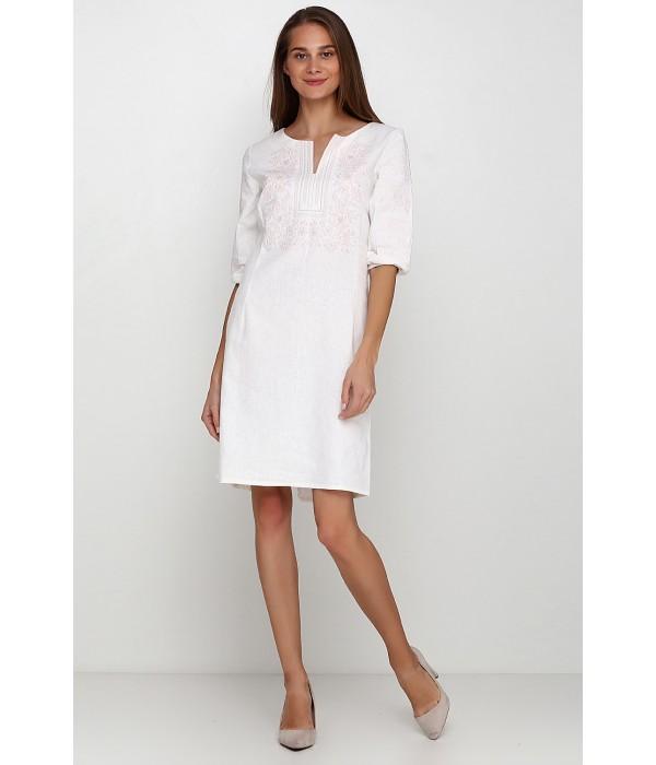 Платье вышитое женское М-1077-8, Платье вышитое женское М-1077-8 купити