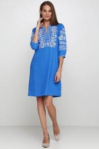 Плаття вишите жіноче М-1077-9