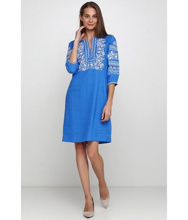 Плаття вишите жіноче М-1077-9, Плаття вишите жіноче М-1077-9 купити