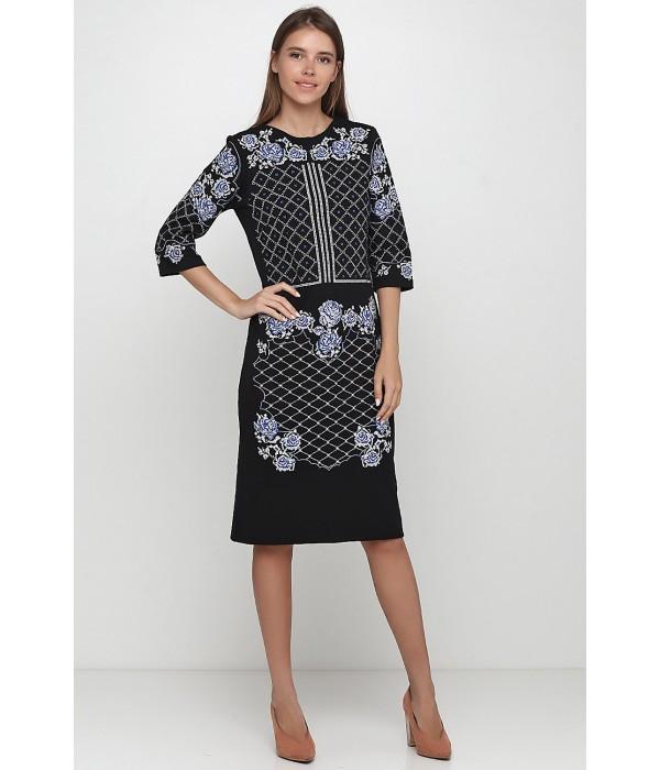 Платье вышитое женское М-1078-1, Платье вышитое женское М-1078-1 купити