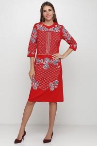 Платье вышитое Етномодерн М-1078-2