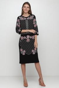 Платье вышитое Етномодерн М-1078