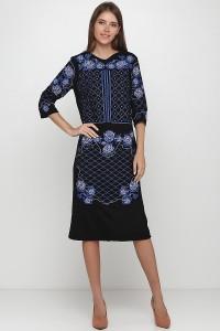 Платье вышитое женское М-1078-3
