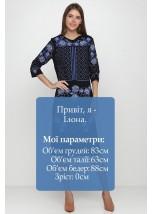 Плаття вишите жіноче М-1078-3